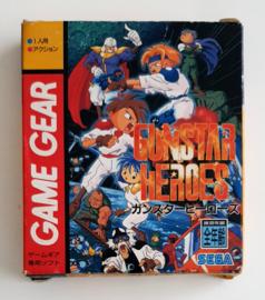 Game Gear Gunstar Heroes (CIB) Japanese version