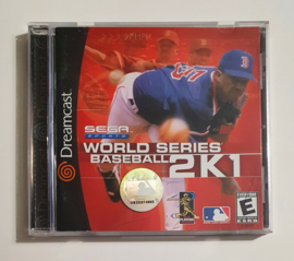 Dreamcast World Series Baseball 2K1 (CIB) US Version