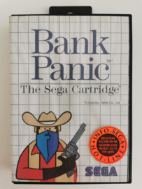 Master System Bank Panic (Box + Cart)