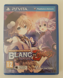 PS Vita MegaTagmension Blanc + Neptune VS. Zombies (factory sealed)