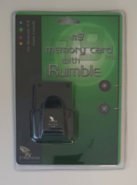 Piranha Extreme n9 Memory Card 1mb with Rumble Black (New)