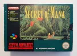 SNES Secret of Mana (CIB incl. map / poster) HOL