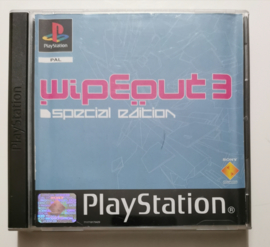 PS1 WipEout 3 Special Edition (CIB)