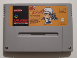 SNES Pierre le Chef is Out to Lunch (cart only) UKV