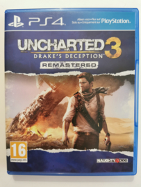 PS4 Uncharted 3 Drake's Deception Remastered (CIB)