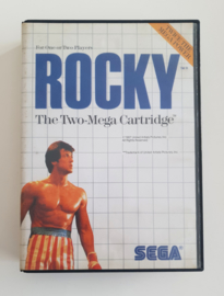 Master System Rocky (Box + Cart)