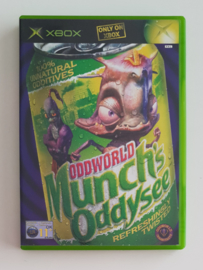 Xbox Oddworld Munch's Oddysee (CIB)