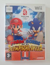 Wii Mario & Sonic op de Olympische Spelen - Beijing 2008 (CIB) HOL