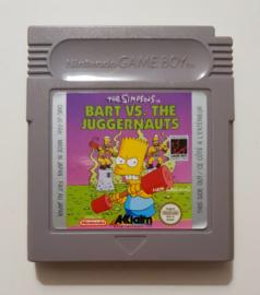 GB The Simpsons: Bart VS. The Juggernauts (cart only) FAH