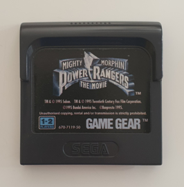 Game Gear Mighty Morphin Power Rangers - The Movie (Cart Only)