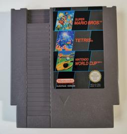 NES Super Mario Bros - Tetris - Nintendo World Cup (Cart Only) FRG