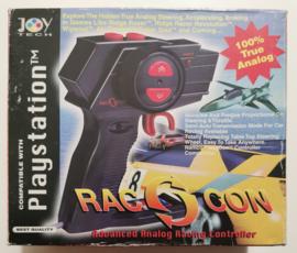 PS1 Rac Con Analog Racing Controller Joytech (complete)