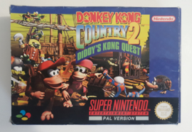 SNES Donkey Kong Country 2 - Diddy Kong's Quest (CIB) UKV