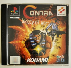 PS1 Contra Legacy of War (CIB)