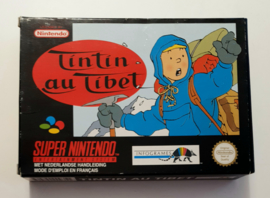 SNES Tintin au Tibet (CIB) FAH-1