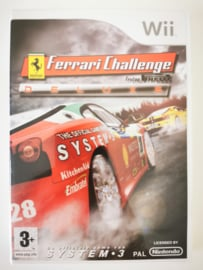 Wii Ferrari Challenge Deluxe (CIB) HOL