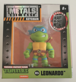 Metals Die Cast Key Chain - Leonardo M26 6 cm (Teenage Mutant Ninja Turtles) new