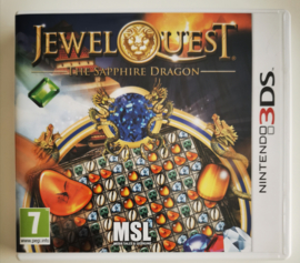 3DS Jewel Quest - The Sapphire Dragon (CIB) EUR