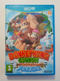 Wii U Donkey Kong Tropical Freeze (CIB) HOL