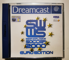 Dreamcast Sega Worldwide Soccer Euro Edition (CIB)