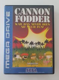 Megadrive Cannon Fodder (Box + Cart)