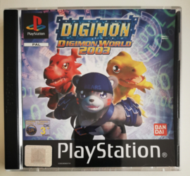 PS1 Digimon - Digimon World 2003 (CIB)