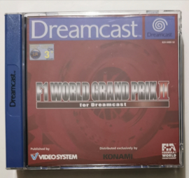 Dreamcast F1 World Grand Prix II for Dreamcast (CIB)