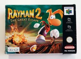 N64 Rayman 2 - The Great Escape (CIB) EUR