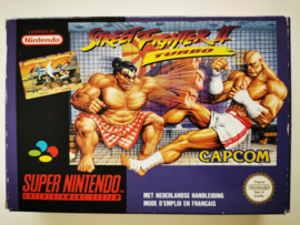 SNES Street Fighter II Turbo (Boxed) FAH