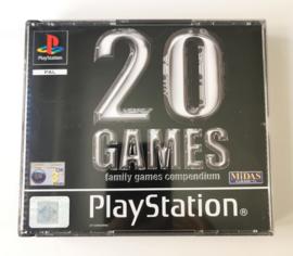 PS1 20 Games - Family Games Compendium (CIB)