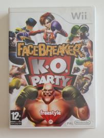 Wii FaceBreaker K.O. Party (CIB) UKV