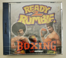 Dreamcast Ready 2 Rumble Boxing (factory sealed)