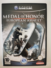 Gamecube Medal of Honor European Assault (CIB) HOL