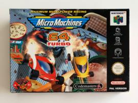 N64 Micro Machines 64 Turbo (CIB) EUR