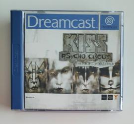 Dreamcast Kiss Psycho Circus - The Nightmare Child (CIB)