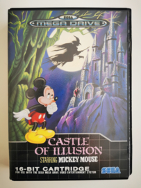 Megadrive Castle of Illusion Starring Mickey Mouse (CIB)