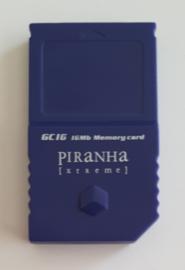 Piranha Extreme 16MB Memory card for Nintendo Gamecube