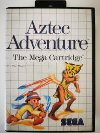 Master System Aztec Adventure (Box + Cart)