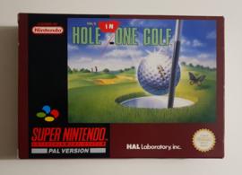 SNES Hal's Hole In One Golf (CIB) FRG
