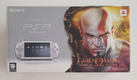 PSP 2004 Slim & lite God of War: Chains of Olympus Pack Ice Silver