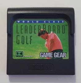 Game Gear World Class Leaderboard Golf (cart only-