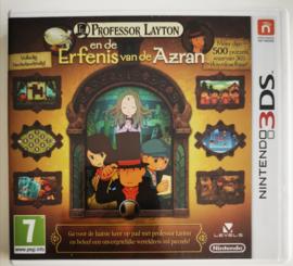 3DS Professor Layton en de Erfenis van de Azran (CIB) HOL