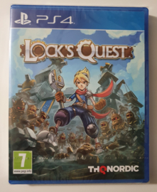 PS4 Lock's Quest (factory sealed)