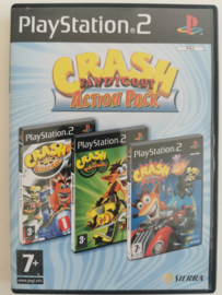 PS2 Crash Bandicoot Action Pack (CIB)