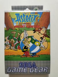 Game Gear Asterix and the Secret Mission (CIB)