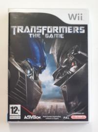 Wii Transformers The Game (CIB) HOL