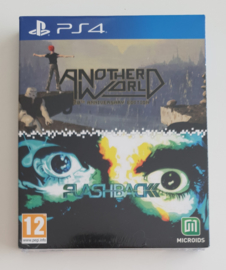PS4 Another World / Flashback (factory sealed)