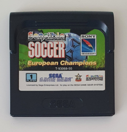 Game Gear Sensible Soccer European Champions (cart only)