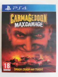 PS4 Carmageddon Max Damage (CIB) With Lenticular Sleeve