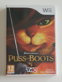 Wii Dreamworks Puss in Boots (CIB) UKV
